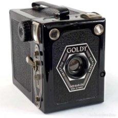 Cámara de fotos: CÁMARA 6X9 GOLDSTEIN GOLDY BOX 1947 FUNCIONA. Lote 280805398