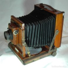 Cámara de fotos: CAMARA DE MADERA DE CAMPAÑA THORTON PICKARD IMPERIAL 13X18. Lote 284791333