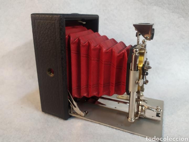 Cámara de fotos: Antigua Cámara de placas y fuelle estilo Krügener Deltacon obturador rotatorio. S.XIX . Muy raraAn - Foto 4 - 287668248