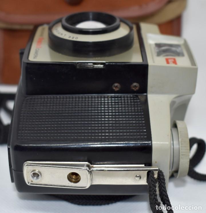 Cámara de fotos: CAMARA ANTIGUA, 120FILM..KODAK BROWNIE CRESTA 3 + FUNDA..INGLATERRA 1960..MUY BUEN ESTADO..FUNCIONA - Foto 12 - 288014968