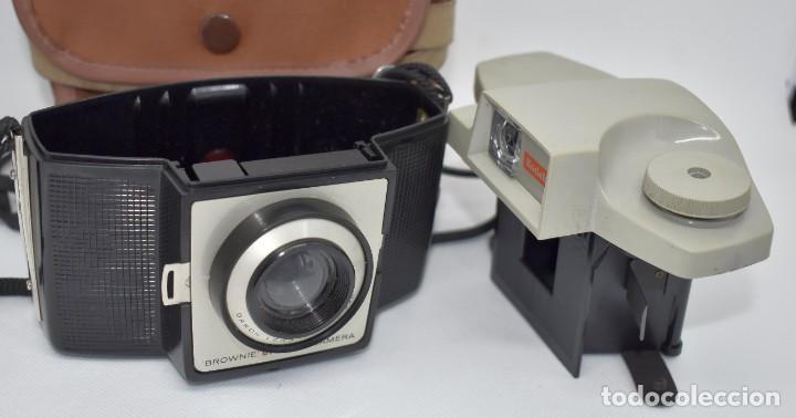 Cámara de fotos: CAMARA ANTIGUA, 120FILM..KODAK BROWNIE CRESTA 3 + FUNDA..INGLATERRA 1960..MUY BUEN ESTADO..FUNCIONA - Foto 19 - 288014968
