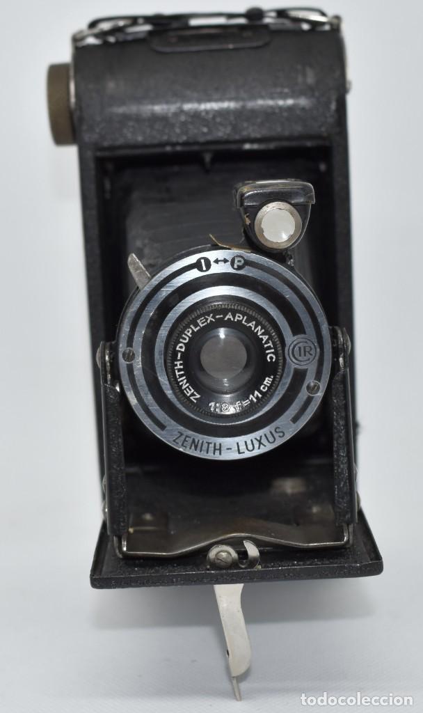 Cámara de fotos: RAREZA, DESCONOCIDA..120 FILM..ZENITH SUPER..DE 1930-1940..MUY BUEN ESTADO..FUNCIONA - Foto 4 - 288057853