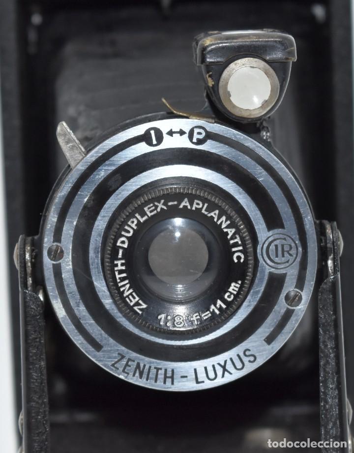 Cámara de fotos: RAREZA, DESCONOCIDA..120 FILM..ZENITH SUPER..DE 1930-1940..MUY BUEN ESTADO..FUNCIONA - Foto 6 - 288057853