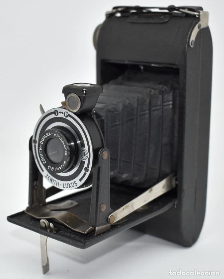 Cámara de fotos: RAREZA, DESCONOCIDA..120 FILM..ZENITH SUPER..DE 1930-1940..MUY BUEN ESTADO..FUNCIONA - Foto 7 - 288057853