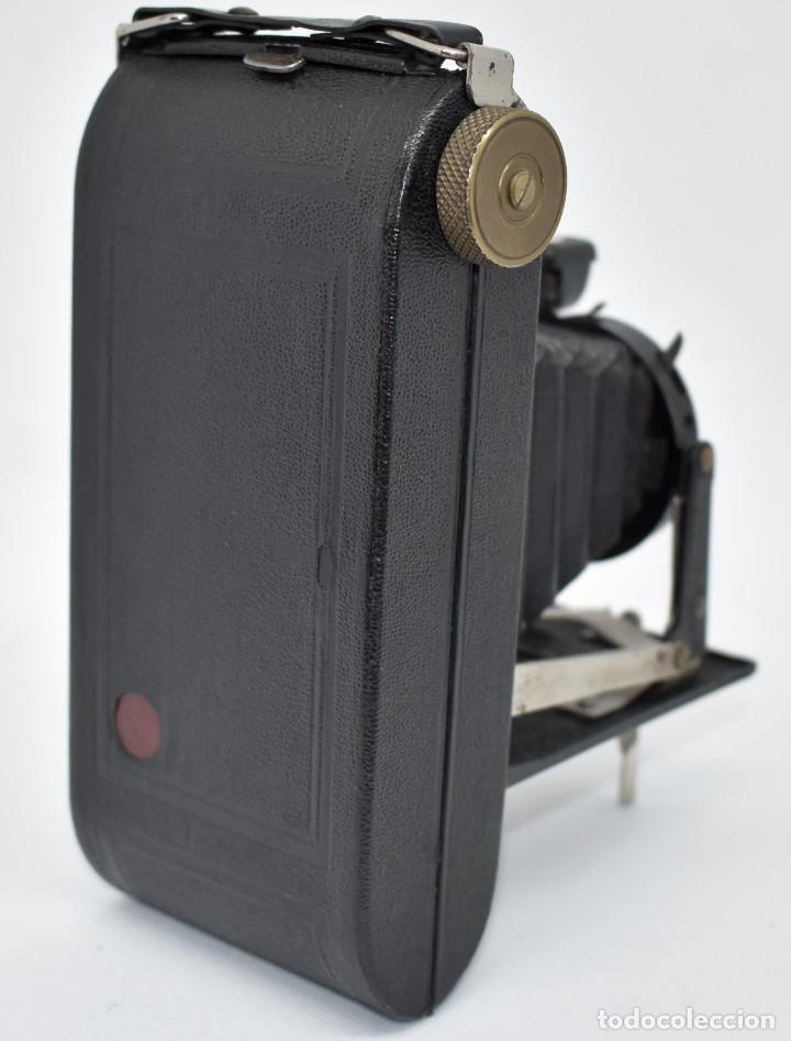 Cámara de fotos: RAREZA, DESCONOCIDA..120 FILM..ZENITH SUPER..DE 1930-1940..MUY BUEN ESTADO..FUNCIONA - Foto 11 - 288057853