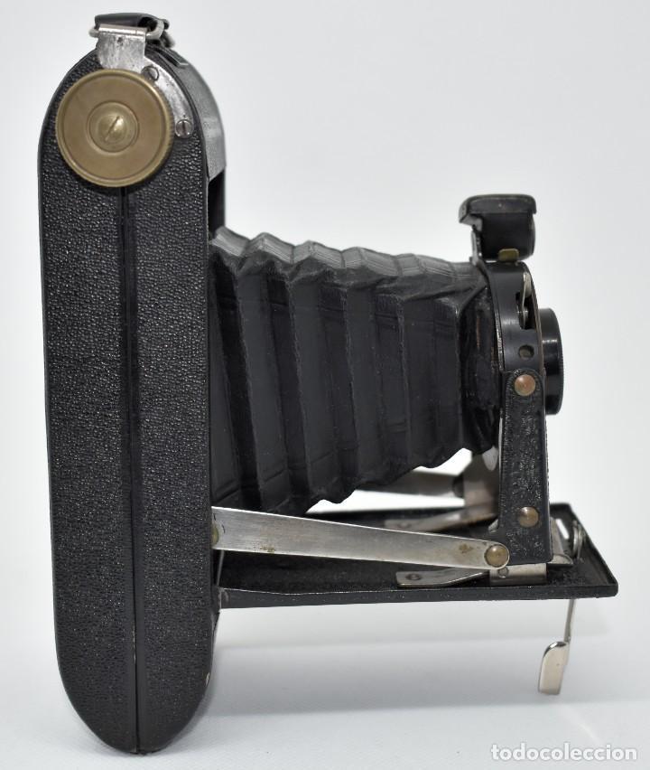 Cámara de fotos: RAREZA, DESCONOCIDA..120 FILM..ZENITH SUPER..DE 1930-1940..MUY BUEN ESTADO..FUNCIONA - Foto 12 - 288057853
