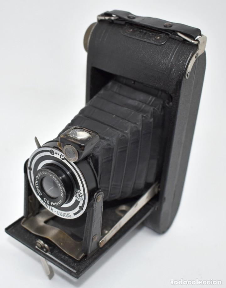 Cámara de fotos: RAREZA, DESCONOCIDA..120 FILM..ZENITH SUPER..DE 1930-1940..MUY BUEN ESTADO..FUNCIONA - Foto 14 - 288057853