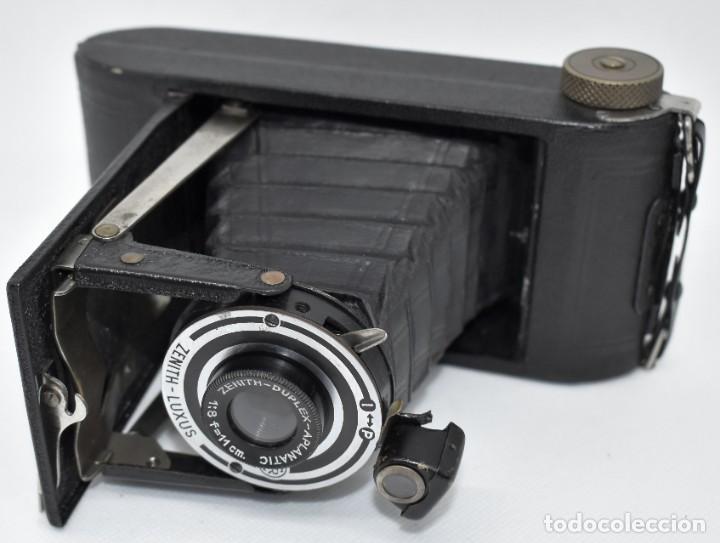 Cámara de fotos: RAREZA, DESCONOCIDA..120 FILM..ZENITH SUPER..DE 1930-1940..MUY BUEN ESTADO..FUNCIONA - Foto 19 - 288057853