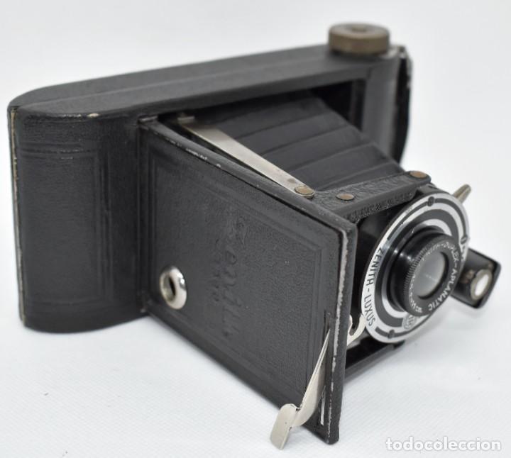 Cámara de fotos: RAREZA, DESCONOCIDA..120 FILM..ZENITH SUPER..DE 1930-1940..MUY BUEN ESTADO..FUNCIONA - Foto 20 - 288057853