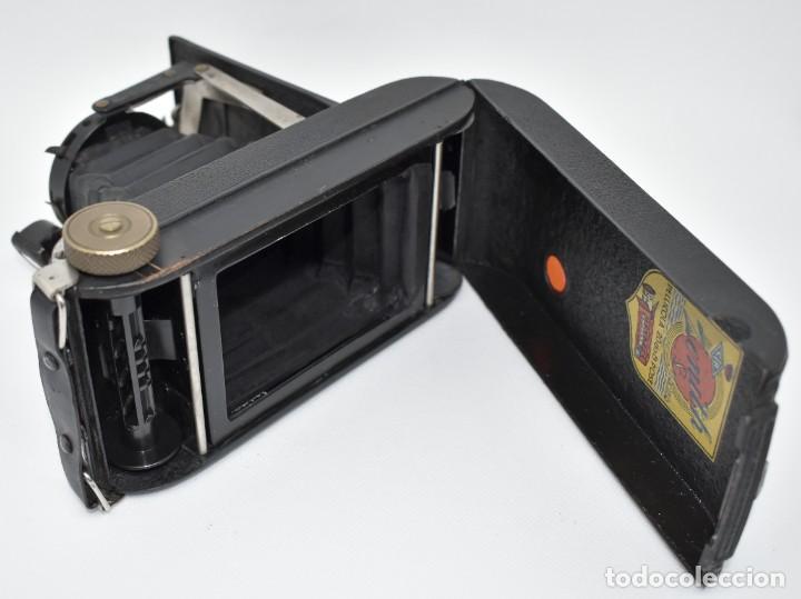 Cámara de fotos: RAREZA, DESCONOCIDA..120 FILM..ZENITH SUPER..DE 1930-1940..MUY BUEN ESTADO..FUNCIONA - Foto 21 - 288057853