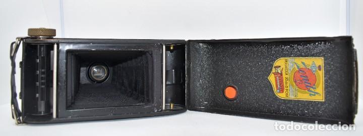 Cámara de fotos: RAREZA, DESCONOCIDA..120 FILM..ZENITH SUPER..DE 1930-1940..MUY BUEN ESTADO..FUNCIONA - Foto 23 - 288057853