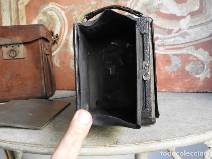 Cámara de fotos: MAQUINA DE FOTOS COMPUR REFLEX CON FUNDA Y PLACAS - Foto 5 - 288731493