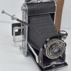 Fotocamere: ART DECO, CAMARA ANTIGUA III REICH..KODAK JUNIOR 620+FUNDA+..ALEMANIA 1933..MUY BUEN ESTADO.FUNCIONA. Lote 290972578