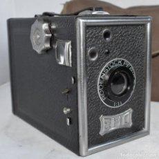 Cámara de fotos: OCASION.. BELLEZA..EHO BOX Nº 195+FUNDA..1935,ALEMANIA..MUY BUEN ESTADO..FUNCIONA..UNICA Y EXCLUSIVA. Lote 295463093