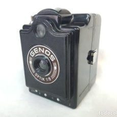 Cámara de fotos: GENOS BOX, 1950.. Lote 295708603