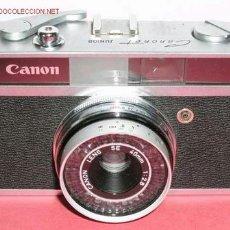 Câmaras de fotos: CANONET JUNIOR . Lote 14276030