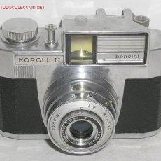 Fotocamere: BENCINI KOROLL II. Lote 16863076