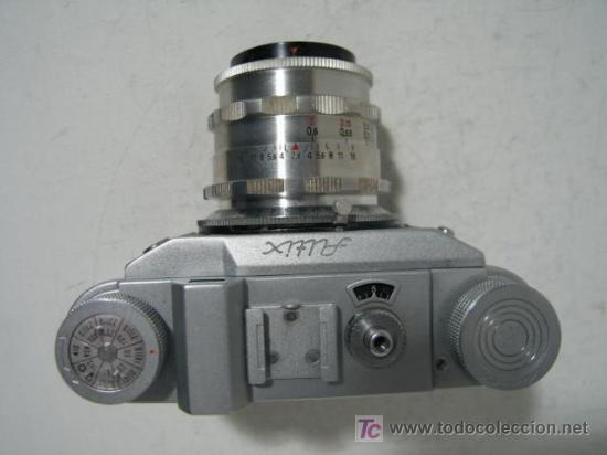 Cámara de fotos: CAMARA CLASICA OBJETIVOS INTERCAMBIABLES ALTIX V (1.954) - Foto 3 - 26897661