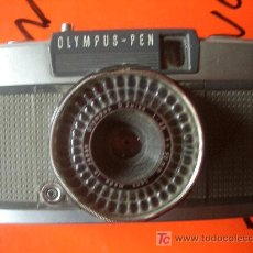 Cámara de fotos: OLYMPUS PEN MEDIO FORMATO HACE 72 FOTOS EN UN CARRETE DE 36. Lote 27445845