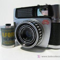 Cámara de fotos: CÁMARA CLÁSICA BRAUN PAXETTE ELECTRAMATIC (1959). Lote 26579254