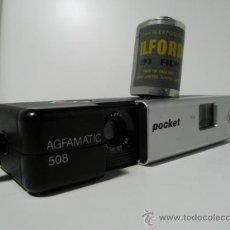 Cámara de fotos: CAMARA DE BOLSILLO PARA NEGATIVO 110 AGFAMATIC 508 POCKET SENSOR (1.978). Lote 162517644