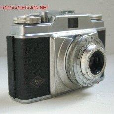 Cámara de fotos: CAMARA CLASICA AGFA SILETTE (1.955-56). Lote 26059984