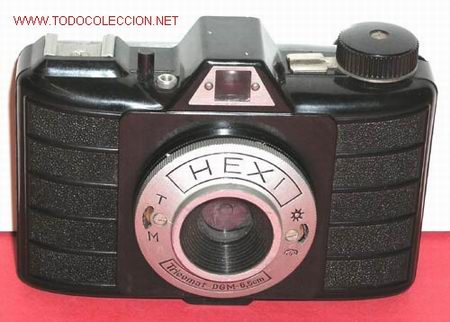 HEXI DE BAQUELITA (Cámaras Fotográficas - Clásicas (no réflex))