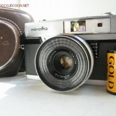 Cámara de fotos: CAMARA CLASICA DE TELEMETRO MINOLTA UNIOMAT II (1.960). Lote 26341491
