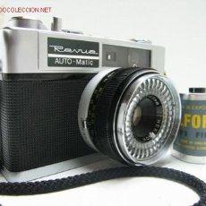 Cámara de fotos: CAMARA CLASICA DE TELEMETRO REVUE AUTO-MATIC DELUXE (1.965). Lote 26518195