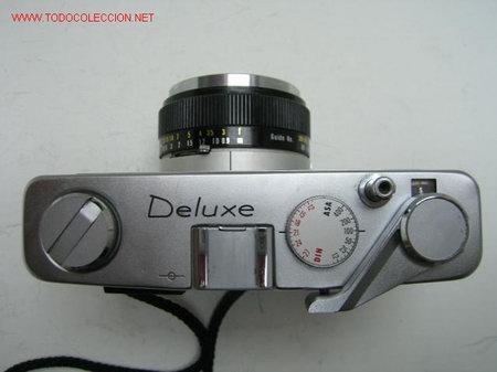 Cámara de fotos: CAMARA CLASICA DE TELEMETRO REVUE AUTO-MATIC DELUXE (1.965) - Foto 3 - 26518195