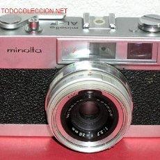 Cámara de fotos: MINOLTA AL-F. Lote 16863126