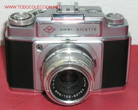 AGFA AMBI SILETTE (Cámaras Fotográficas - Clásicas (no réflex))