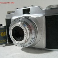 Cámara de fotos: CAMARA CLASICA AGFA SILETTE CON PRONTOR-SVS (1.955-56) . Lote 26696213