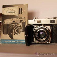 Cámara de fotos: KODAK RETINA II C (TIPO 020) / TELEMETRICA / EXCELENTE ESTADO Y FUNCIONANDO. Lote 26419918