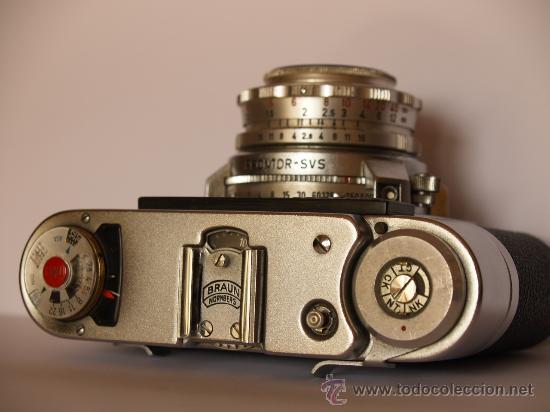 Cámara de fotos: BRAUN PAXETTE SUPER II BL - FUNCIONANDO Y EN EXCELENTE ESTADO - Foto 2 - 27322819