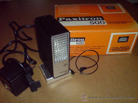 Cámara de fotos: FLASH ELECTRONICO BRAUN PAXITRON 500 - Foto 20 - 22930869