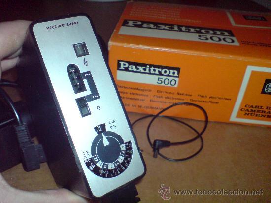 Cámara de fotos: FLASH ELECTRONICO BRAUN PAXITRON 500 - Foto 22 - 22930869