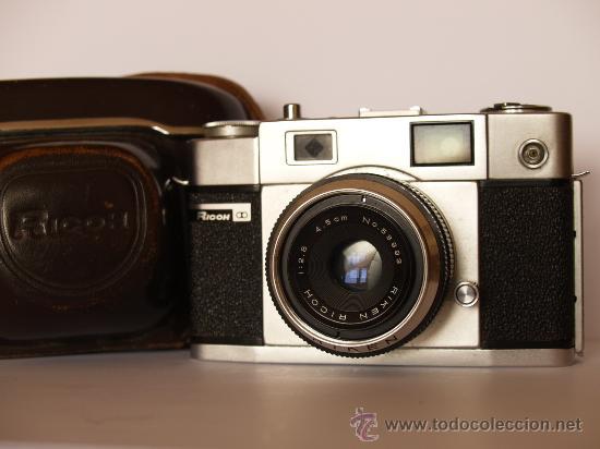 RICOH 300 / TELEMETRICA / EXCELENTE ESTADO Y FUNCIONANDO (Cámaras Fotográficas - Clásicas (no réflex))
