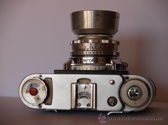 Cámara de fotos: BRAUN PAXETTE SUPER II BL - FUNCIONANDO Y EN EXCELENTE ESTADO - Foto 2 - 27433536
