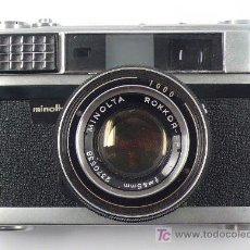 Cámara de fotos: MINOLTA AL. + OBJ. ROKKOR 45MM 1:2 EN FUNCIONAMIENTO, ALGO SUCIA, .. Lote 19133726