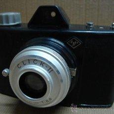 Cámara de fotos: ANTIGUA CAMARA BAQUELITA AGFA CLICK II - AÑO FABRICACION 1959-70. Lote 26810367