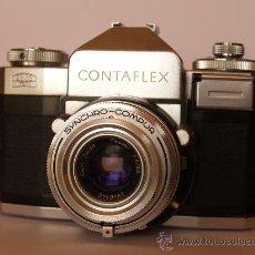 Cámara de fotos: ZEISS IKON CONTAFLEX IV / FUNCIONANDO / EN EXCELENTE ESTADO. Lote 27181301