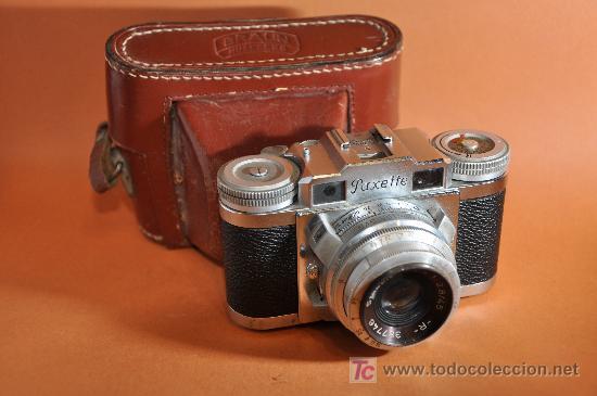 BRAUN PAXETTE AÑO 1951 (Cámaras Fotográficas - Clásicas (no réflex))