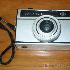 Cámara de fotos: CAMARA FOTOGRAFICA AGFA ISO-RAPID IC MADE IN GERMANY. Lote 26755582