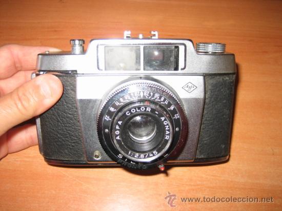 Cámara de fotos: CAMARA FOTOGRAFICA AGFA SILETTE CON FUNDA DE CUERO ORIGINAL - Foto 4 - 27409021