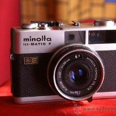 Cámara de fotos: MINOLTA HI MATIC F. Lote 22442084