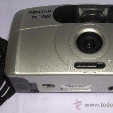Cámara de fotos: CÁMARA FOTOGRÁFICA COMPACTA PENTAX PC-3000 - B. ESTADO GENERAL. Lote 22821666