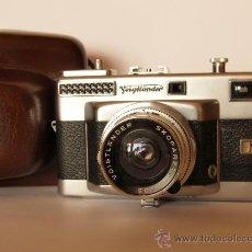 Cámara de fotos: VOIGTLANDER VITESSA T (TIPO 1) - OBJETIVO SKOPARET 35MM 3.4 + GUIA / EXCELENTE ESTADO. Lote 27459748