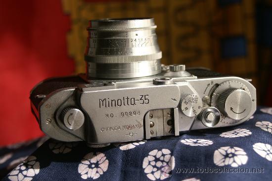 Cámara de fotos: Minolta 35 II - Foto 4 - 25949524