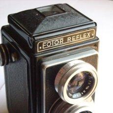 Cámara de fotos: TLR ATOMS FOTOR REFLEX 6X6CM OBTURADOR ATOS OBJETIVO SOM BERTHIOT 75MM F4,5 AÑO 1951. Lote 26126689